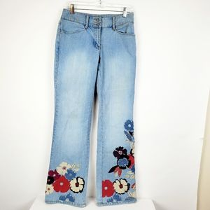 INC International Concepts Womens Floral Embroider
